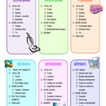 Useful Cleaning Check-list You Need