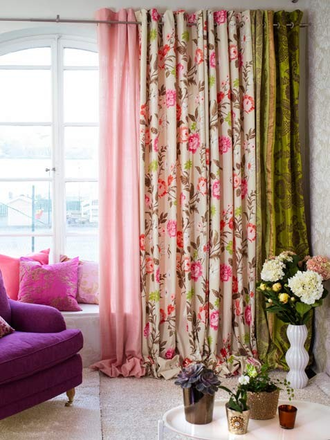 flower curtain